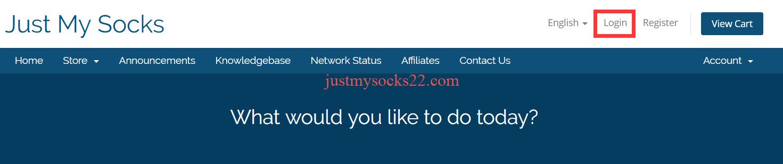 Just My Socks 工单系统